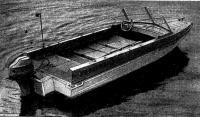 Лодка подготовлена к ночлегу
