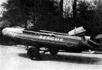 Лодка с мотором «Эвинруд» на трейлере