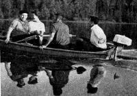 Лодка с мотором «Турист»