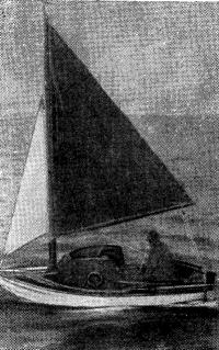 Лодка «Тинкербелл» в 200 милях от английского побережья