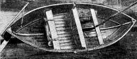Лодка в собранном виде