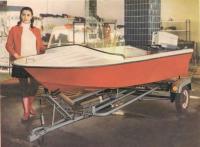 Лодка «Янтарь» с мотором «Москва-М» и трейлером