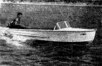 Лодка «Южанка» на ходу