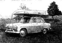 Маленькая мотолодка Щепка легко перевозится на Москвиче