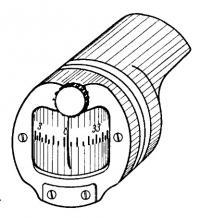 Малогабаритный компас диаметром 80 мм