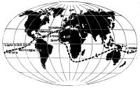 Маршрут кругосветного плавания Телиги