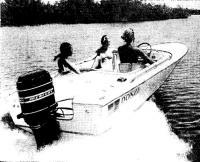 «Мерк-1400» на прогулочной лодке
