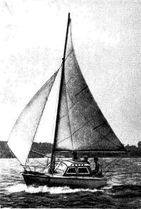 Мина-яхта «Лада», построенная школьниками из Костромы