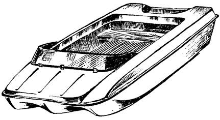 Мини-тримаран для автомобилиста