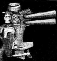 Модифицированный для гонок мотор Меркури