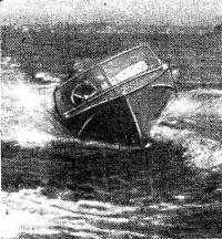 Мореходные испытания лодки в Днепровско-Бугском лимане