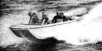 Мореходные испытания мотолодки «Агат-6»
