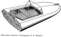 Мотолодка «Комета» конструкции М. К. Петрова