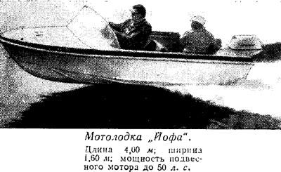 Мотолодка Йофа