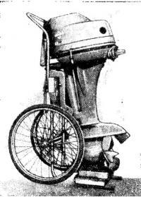 Мотор на тележке