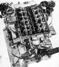 Мотор со снятой клапанной крышкой