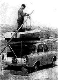 «Мышка» на крыше автомобиля