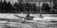 На дистанции чемпион в гоночном классе ОС Э. Голубицкий (УССР)