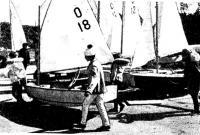 На набережной Пираты перед выходом на гонку