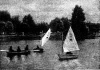 На озере возле лагеря