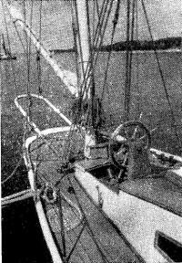 На палубе «Утехи» (фото 1972 г)