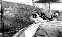 На плесе в поисках створа (яхта Ост)