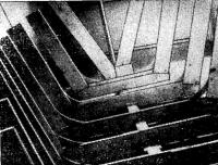 Набор матрицы, перед обшивкой рейками