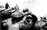 Надувные лодки команды ярославского завода «Резинотехника»