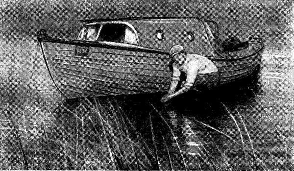 Наша лодка у берега