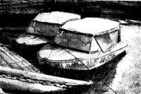 Наши лодки после очередного перехода при минусовой температуре