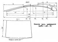 Нижняя часть дейдвудной трубы