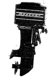 Новая модель 65-сильного мотора «Меркюри»