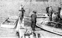 Новые алюминиевые лодки «Ока» (слева), «Крым» и «Сирена» на испытаниях