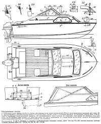 Оборудование катера «Арго-73»
