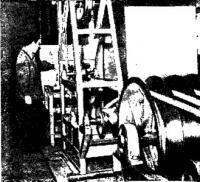 Обработка канатов токами высокой частоты