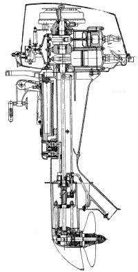 Общая схема мотора ПЛМ-3