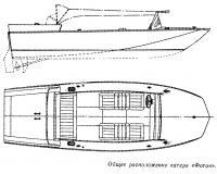 Общее расположение катера «Фотон»