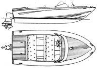 Общее расположение катера «Сонни-14»