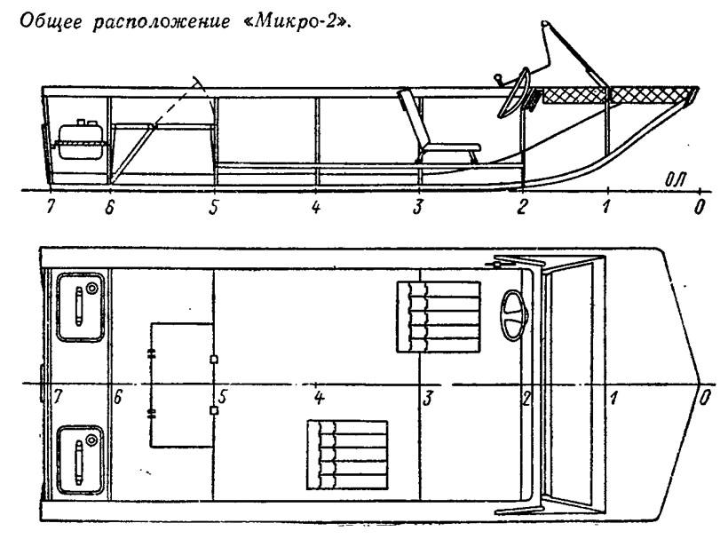 Общее расположение «Микро-2»