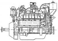 Общий вид двигателя «М-100В»