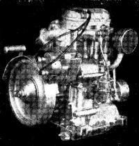 Общий вид двигателя УД-25В