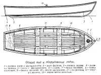Общий вид и оборудование лодки