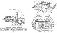 Общий вид и разрез двигателя