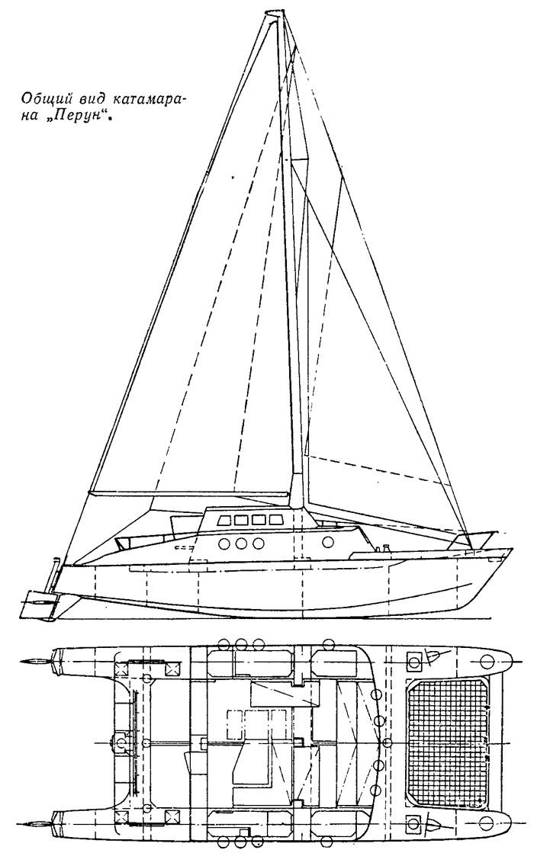 Как построить тримаран своими руками 74
