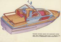Общий вид катера «Кальмар»