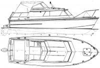 Общий вид катера сбоку и сверху