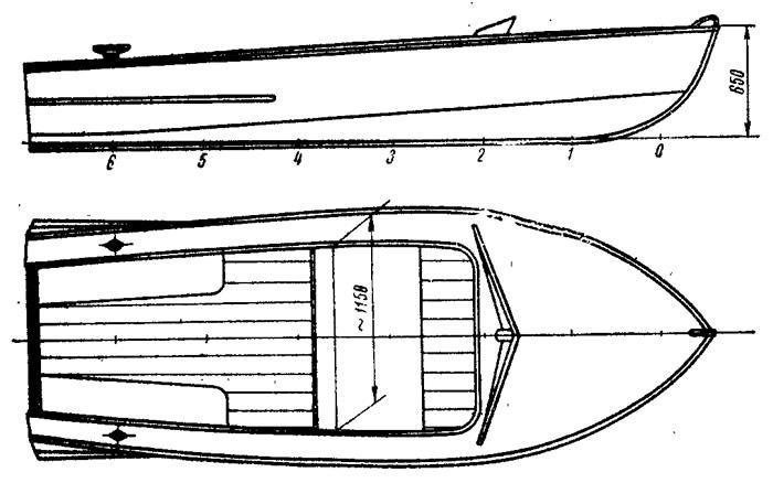 Описания катеров произведённых в СССР