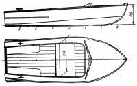 Общий вид лодки