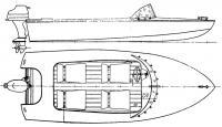 Общий вид лодки «Вихрь»