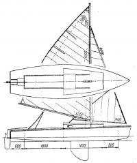 Общий вид мини-яхты